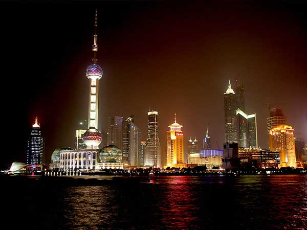 The iconic image of Pudong, Shanghai